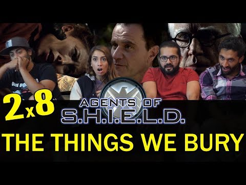 Agents of Shield - 2x8 The Things We Bury - Group Reaction