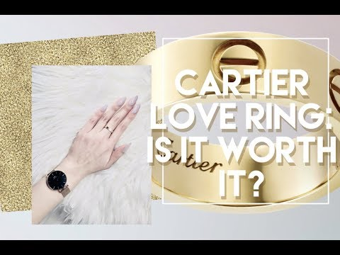 CARTIER LOVE RING | IS IT WORTH IT?? MY STORY,  REVIEW, WEAR AND TEAR