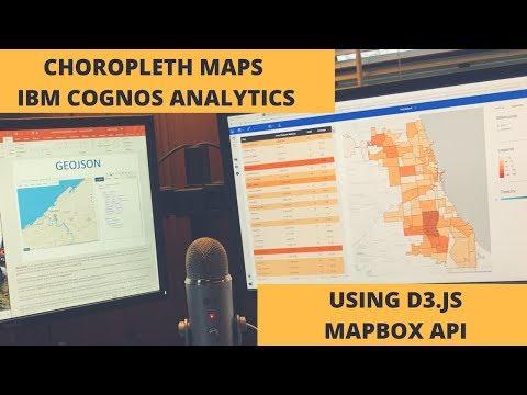 IBM Cognos Analytics Custom Controls:  Choropleth Maps