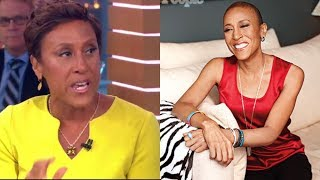 Sad News, Robin Roberts Made Heartbreaking Confession About Her Battle With Cancer.