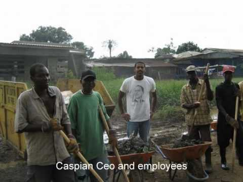 Solid Waste Management-Waste Collection- Liberia-The Caspian Difference