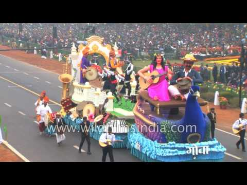Gao tableau shows the musical heritage of the state at 68th Republic Day