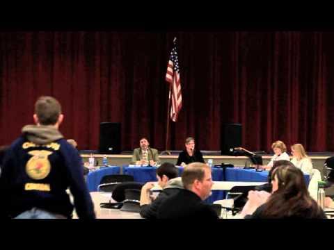 Central 13J School Board Meeting 03072011 Part 1