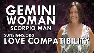 Gemini Woman Scorpio Man – A Feisty Unpredictable Relationship