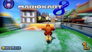 Mario Kart 8 Gameplay - Demo Wii U HD (3 New Tracks/ DK+Bike)