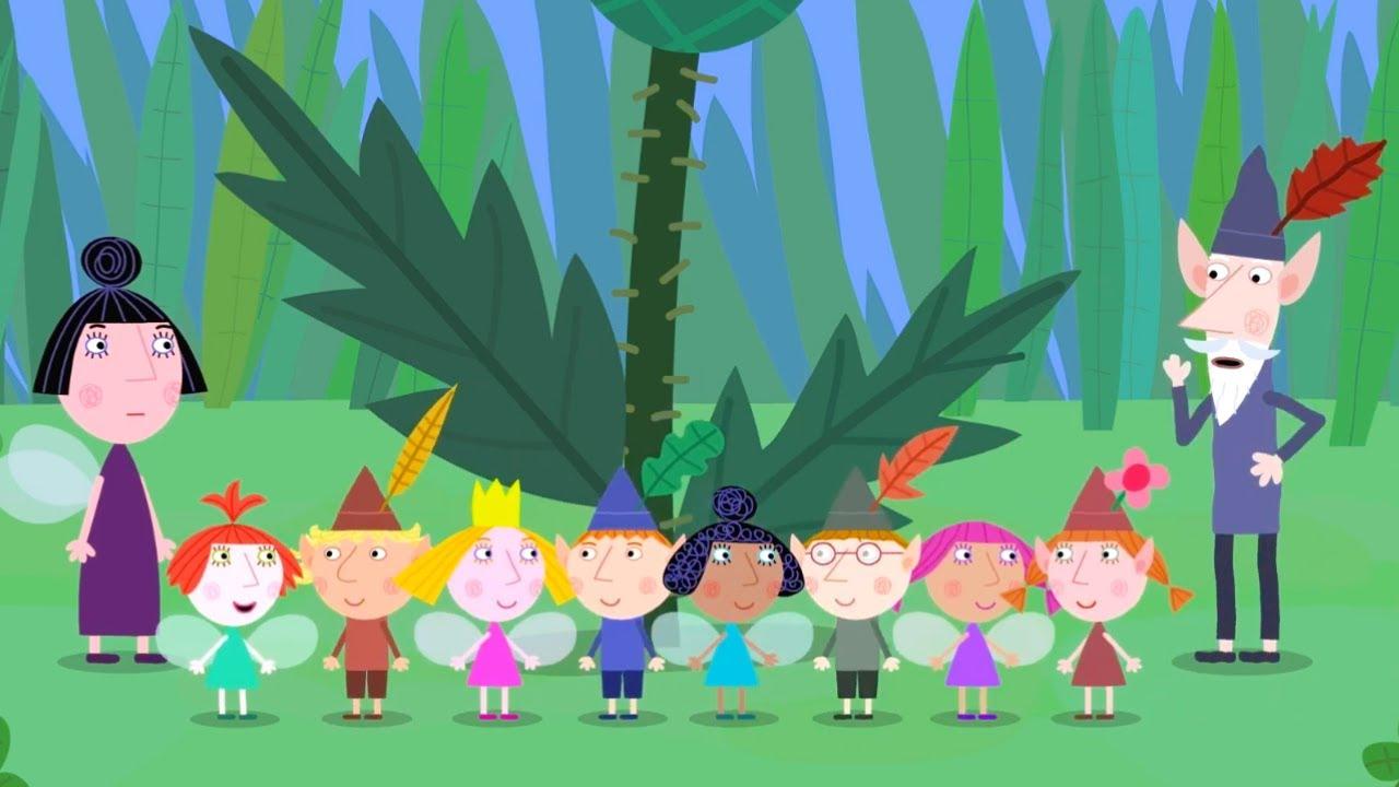 Ben Y Holly En Español La Clase Sobre La Naturaleza Dibujos Animados Divertidos Para Niños Youtube