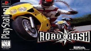 Gambar cover Road Rash PS1 Gameplay