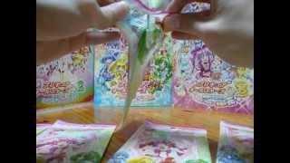 開け方下手糞ですみません。 アニメイト日本橋で購入しました。 1枚105円です。