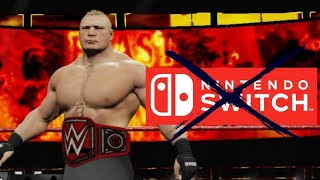 WWE 2K18 on Nintendo Switch Review  - BAD BUGS , GLITCHES , SLOW FPS , UNPLAYABLE