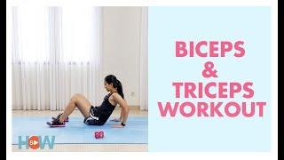 Latihan Cara Mengecilkan Lengan   Video Olahraga Fitness di Rumah