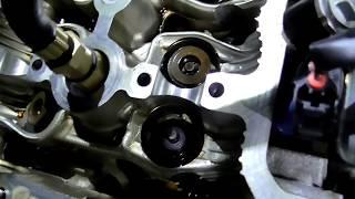 двигатель toyota 1ZZ-FE. Нюансы при замене маслосъемных колпачков