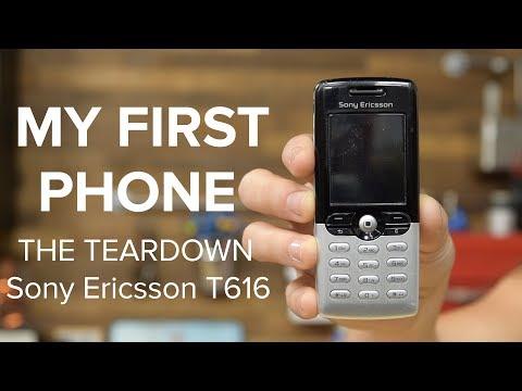 My First Phone: The Teardown (Sony Ericsson T616)