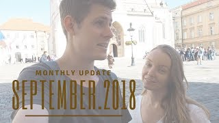 MONTHLY TRAVEL VLOG | EPISODE 2| Monthly Update September 2018 | From Zagreb Croatia