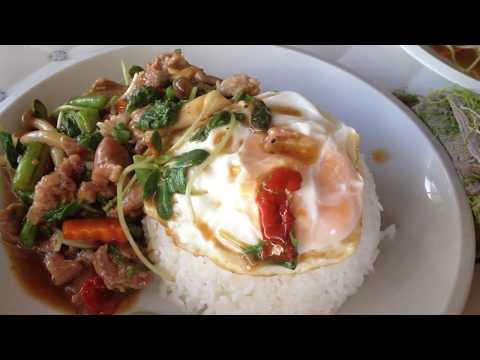 Asian Street Food - Tasting Lao Foods - Popular Street Food In Laos