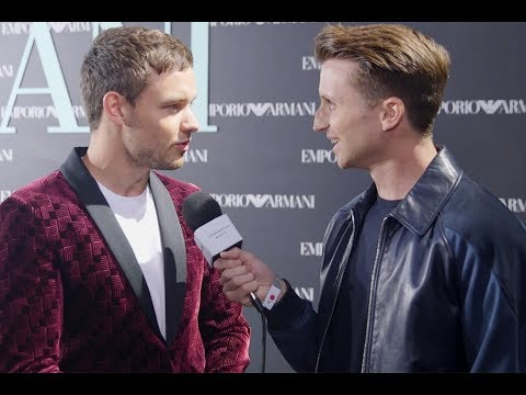 Liam Payne On One Direction Split and Shopping For Cheryl At Emporio Armani
