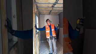 Construcción en sistema Drywall para una habitación parte3
