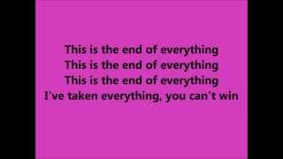 The Dirty Youth - The End Lyrics