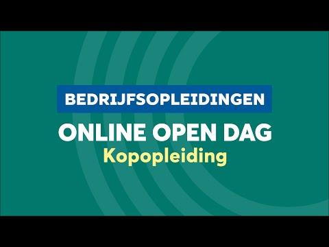 BO Kopopleiding Online Open Dag