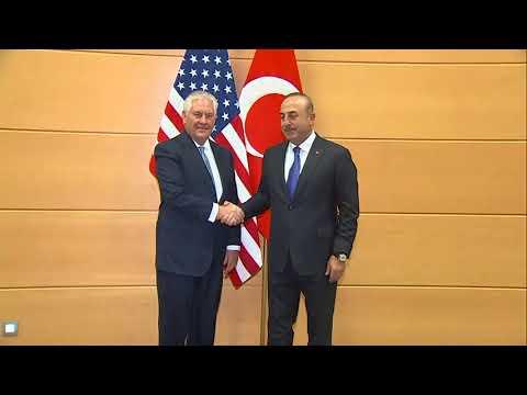 Secretary Tillerson Meets Turkish Foreign Minister Cavusoglu