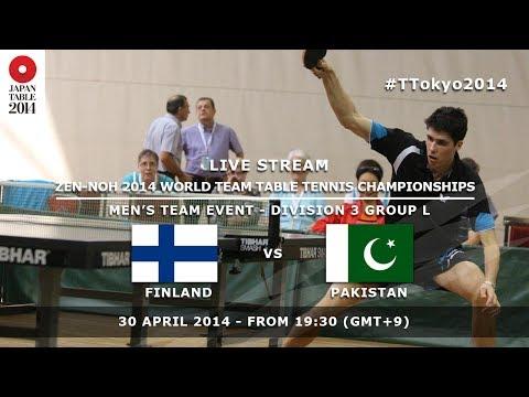 #TTokyo2014: Finland - Pakistan