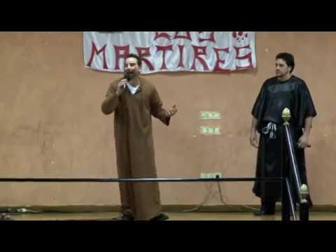 Obra de teatro: La voz de los mártires. Iglesia del Monte, Logroño.
