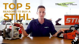 Top 5 reason to buy a STIHL - Best Landscaping products 2020