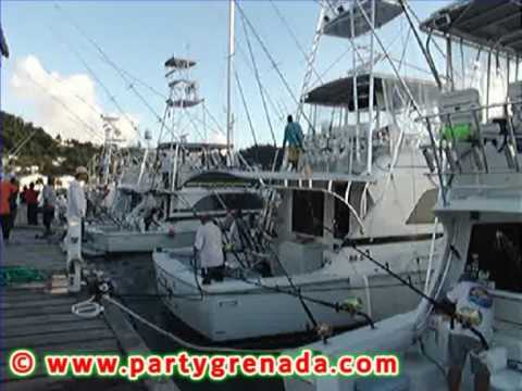 Boats Returning From Day 1 Of Fishing - Grenada's Annual Spiceisle Billfish Tournament 2009