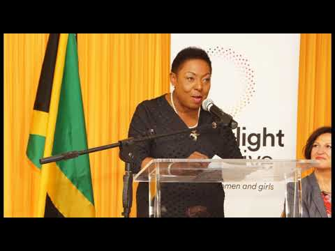 AUDIO:#SpotlightENDViolence–Minister Grange of Jamaica on GBV as public health & development issue