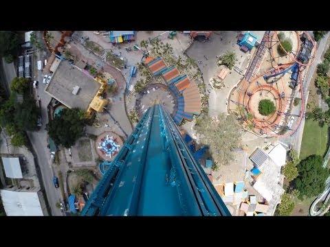 Falcon's Fury Busch Gardens Tampa POV