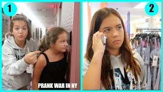 PRANK WAR IN New York | SISTERFOREVERVLOGS #527