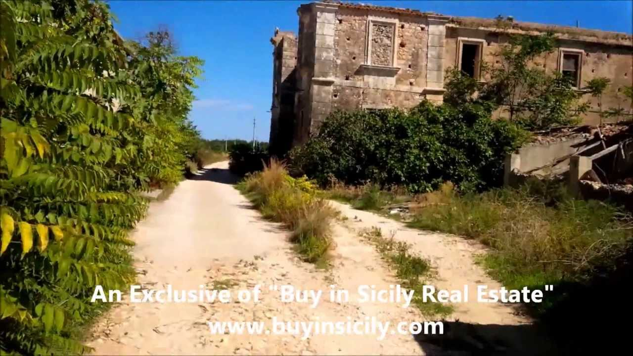 Storica Villa In Vendita Castello In Vendita Castle For Sale In Sicily Historical Property Youtube