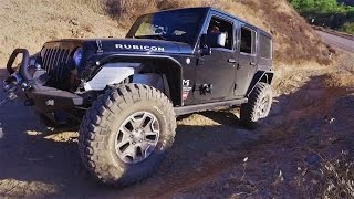 Jeep Wrangler JKU Off Road Tuning and Training PLUS License Plate and Third Brake Light Relocate