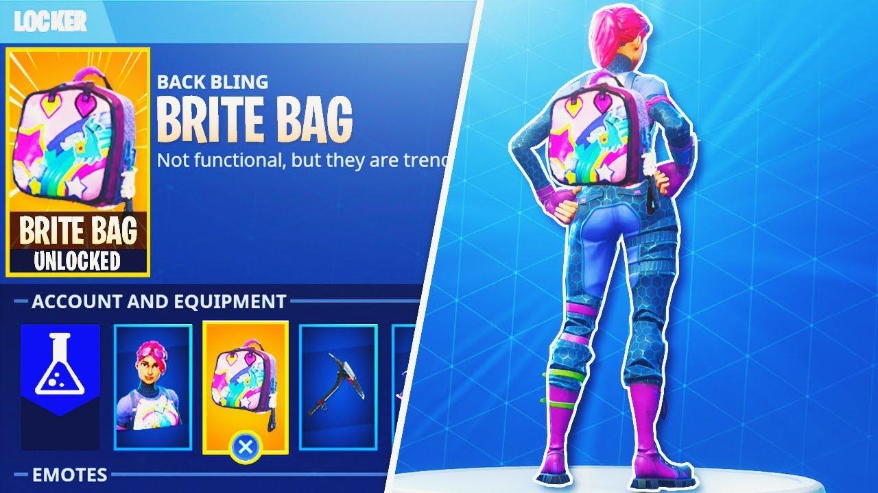 New Quot Brite Bag Quot Secret Glitch In Fortnite How To
