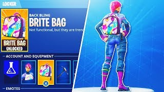 "NEW ""Brite Bag"" Secret *GLITCH* in Fortnite + How To UNLOCK ITEM GLITCH in Fortnite Battle Royale!"