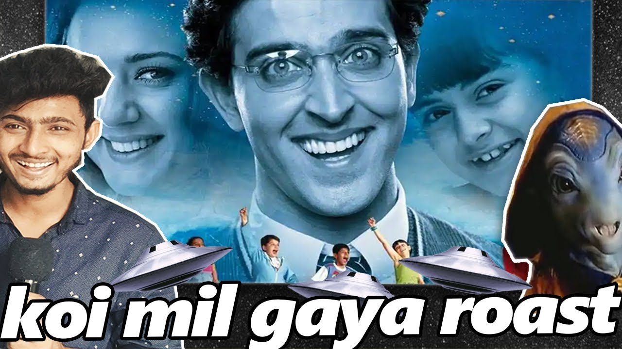 KOI MIL GAYA IS THE BEST MOVIE EVER 😂😂| KOI MIL GAYA ROASTED | Common RaJ