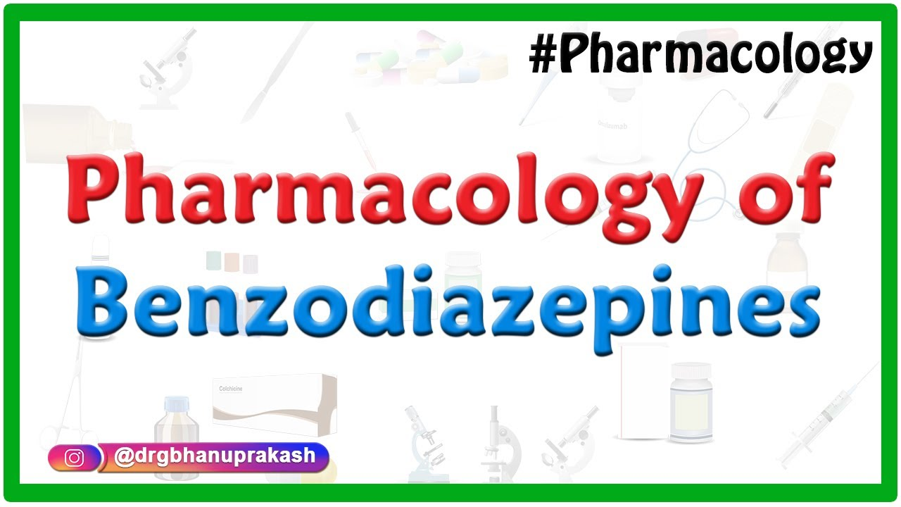 Pharmacology of Benzodiazepines - Mechanism of action , uses , side effects  : Fmge and neet pg