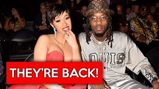 Cardi B and Offset are getting back together!
