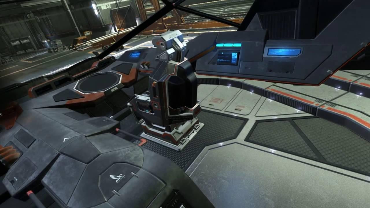 Vive/ED - Python Cockpit Tour