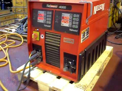 nelson nelweld model 4000 welding machine youtube rh youtube com Nelson Stud Welding Log Stud Welding Process