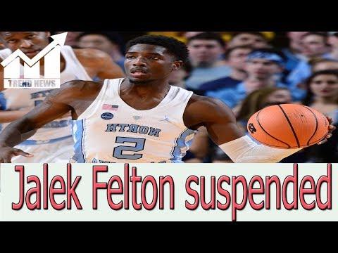 North Carolina guard Jalek Felton suspended by the school