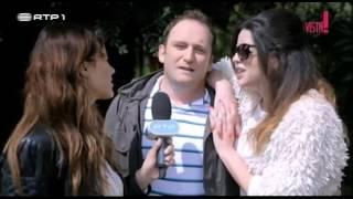 """Bastidores de """"Mau Mau Maria"""" - SóVisto!"""