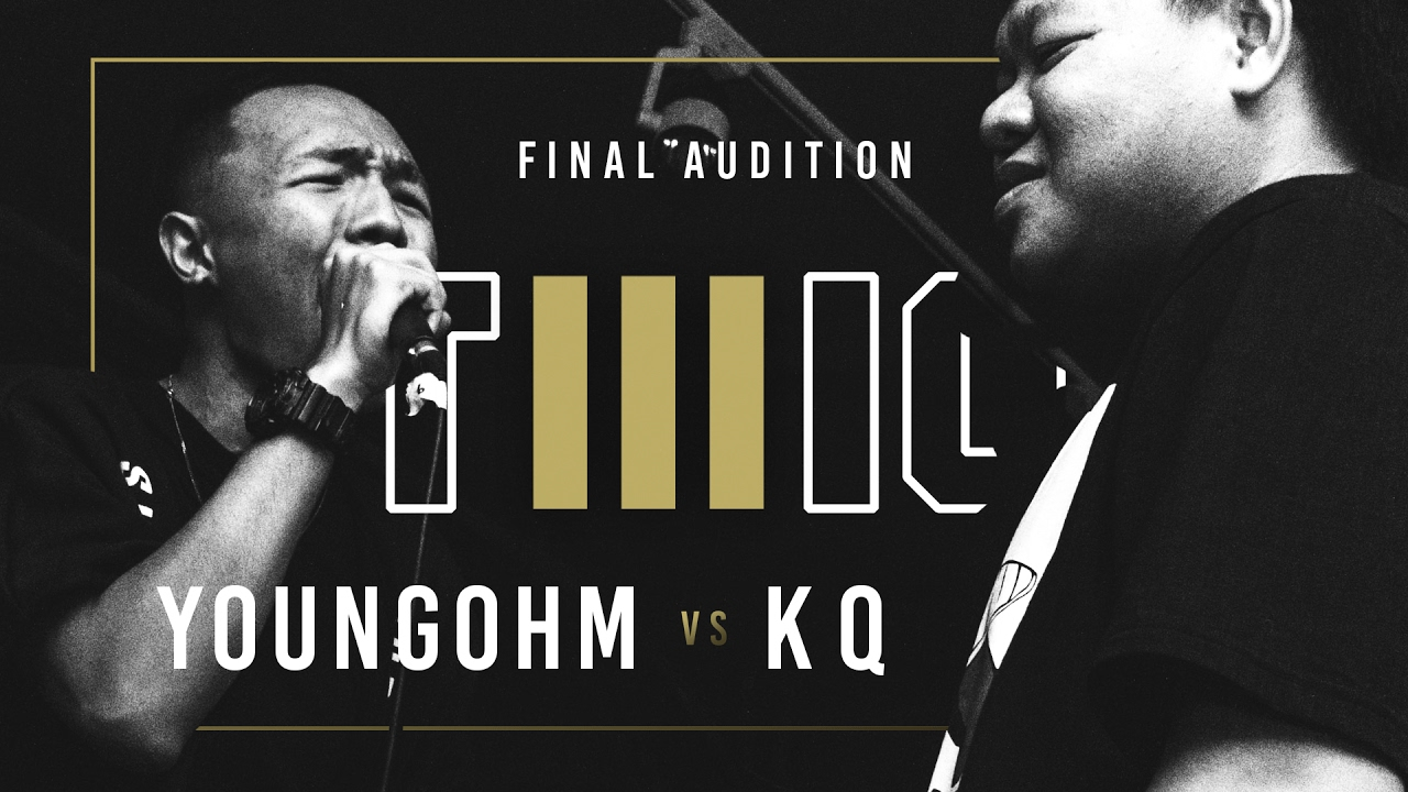 TWIO3  #14 YOUNGOHM vs KQ (FINAL AUDITION)  RAP IS NOW