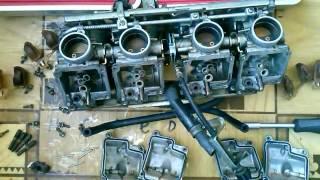 Чистка карбюратора Honda CB-1