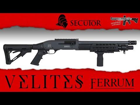 [Review] Secutor Velites SV Ferrum (Federdruck) 6mm Airsoft/Softair (German,DE)