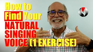 How To Find Y๐ur Natural Singing Voice - Do This One Easy Exercise