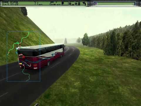 Дальнобойщики-2 на Windows 7. Выбираемся из Алмазного на автобусе