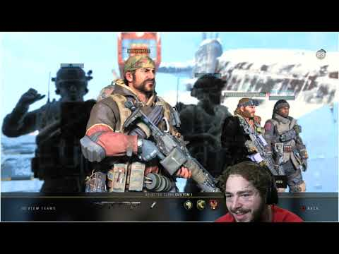 Post Malone plays Black Ops 4 | FULL TWITCH STREAM (Call of Duty)