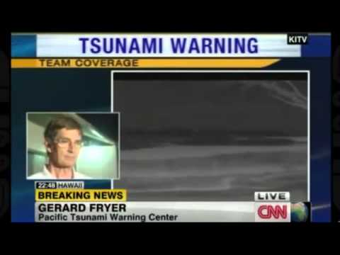Strong 7.7-magnitude Canada quake prompts tsunami warning. Pacific tsunami warning center