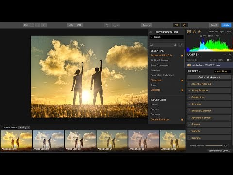 Boost Your Photo Editing Superpowers with Luminar Flex
