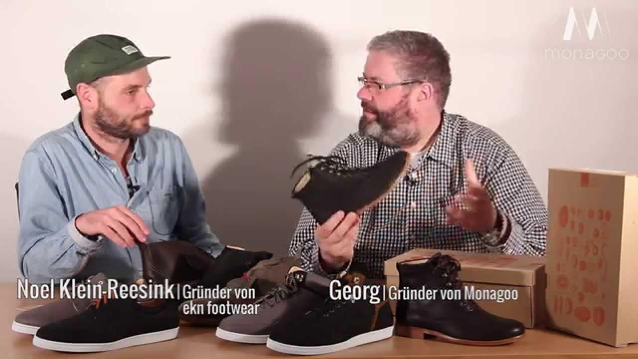 Noel Klein Reesink von ekn footwear zu Besuch bei Monagoo